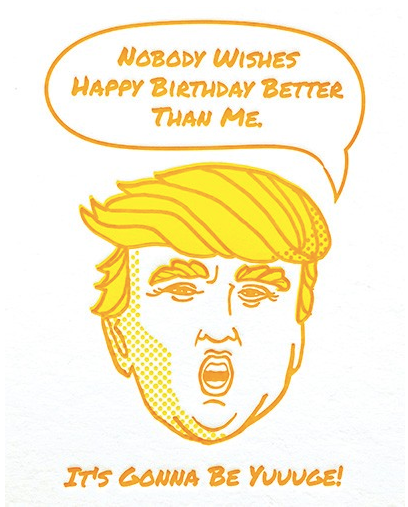 Yuuuge Birthday