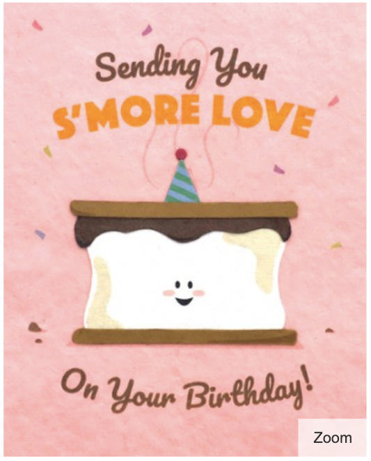 S'more Love Birthday
