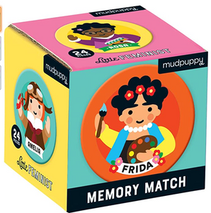 MINI MEMORY MATCH GAME: LITTLE FEMINIST