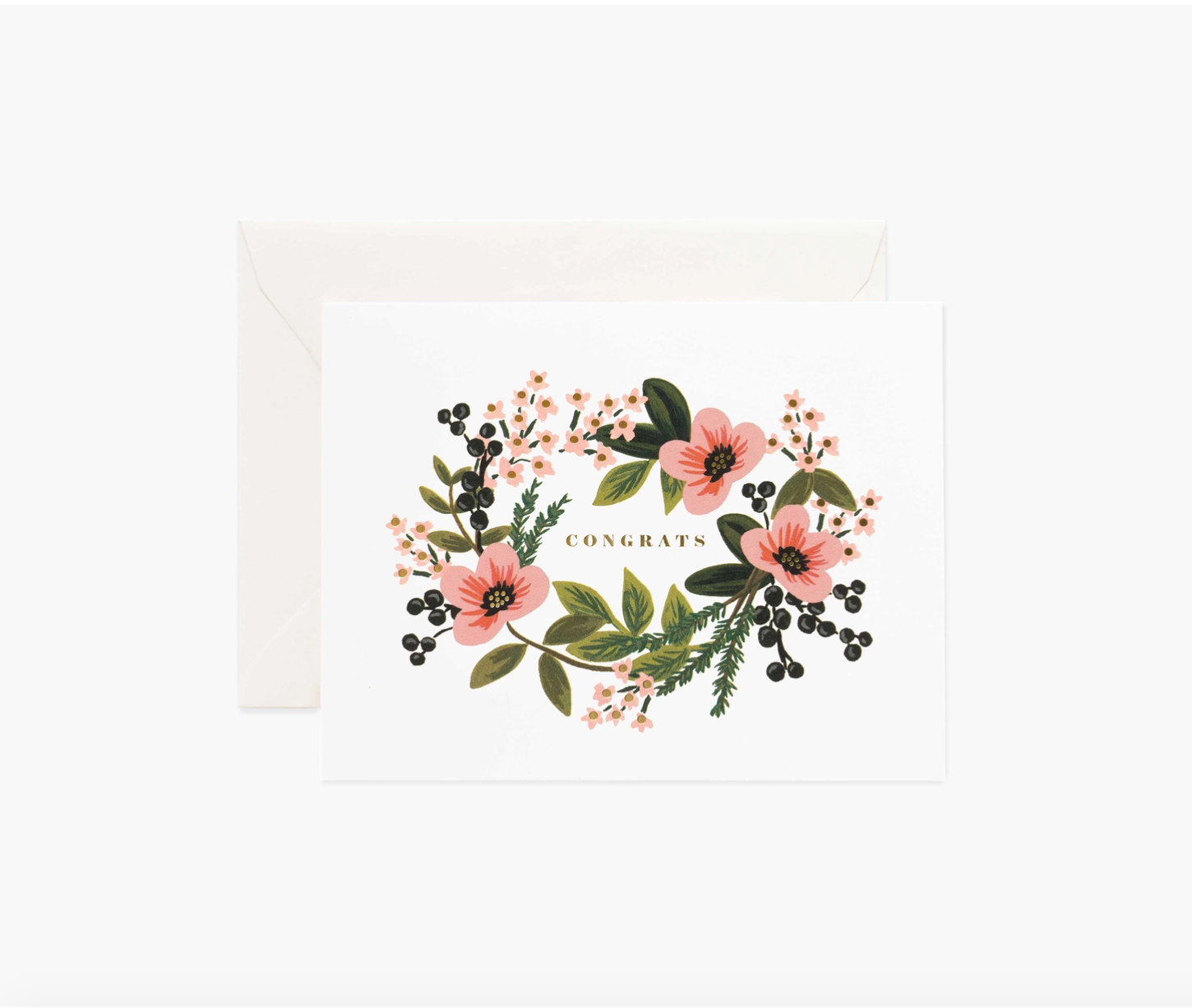 Bouquet  Congrats Greeting Card