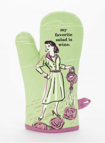 Humor Oven Mitts