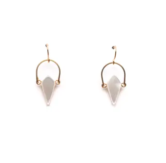 Mother or Pearl Earrings