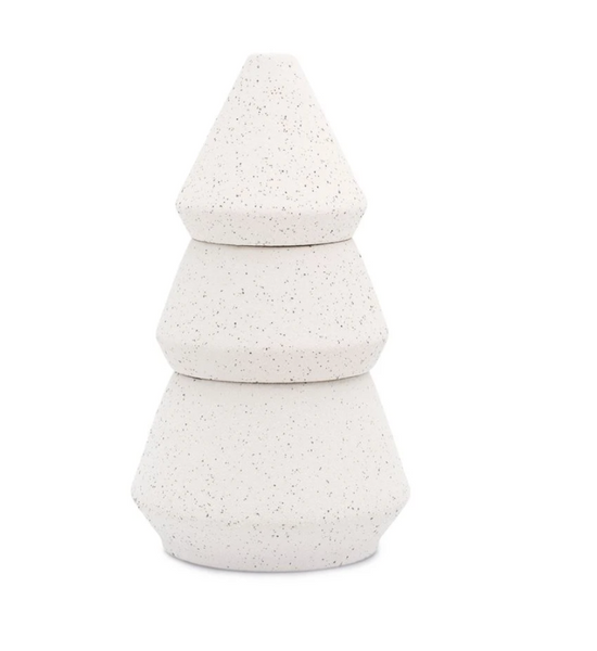 Cypress & Fir Holiday Speckle Tree Stack Large