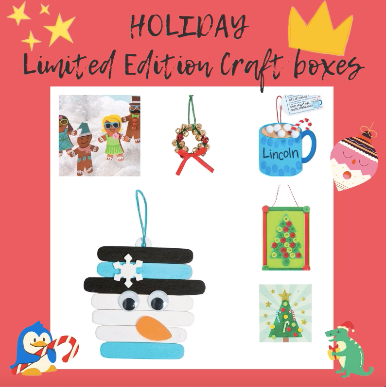 Kids Weekly Craft Box (5 crafts)