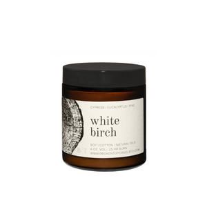 White Burch Soy Candle