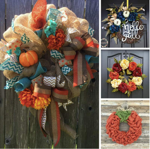 Fall Wreath Making- Nov 15th 6:30-8:30