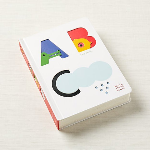 The ABC Touch Think Learn Book