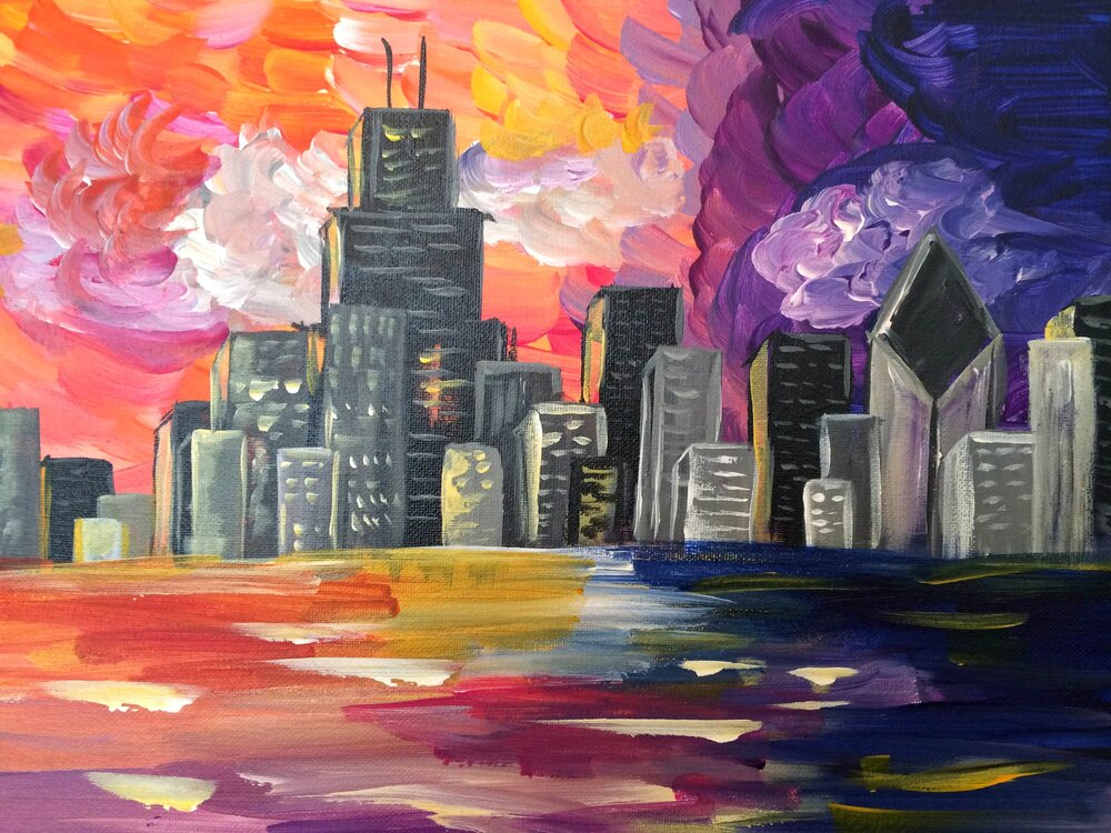 Paint and Sip- Nov 8th 6:30-8:30
