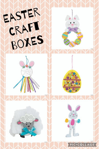 Easter Kid's Craft Box (5 crafts)