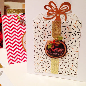 Holiday Card Making Workshop- BYOB- Nov 22nd 6:30-8:30pm