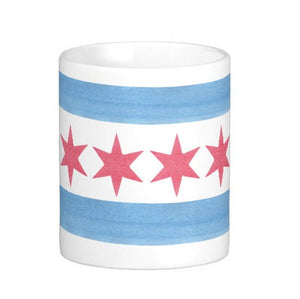 Chicago Flag Mug - One Strange Bird