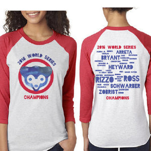 Chicago Cubs World Series Players Shirt - One Strange Bird