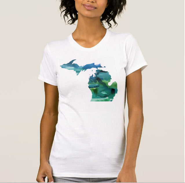 Michigan Shirt Unisex - One Strange Bird