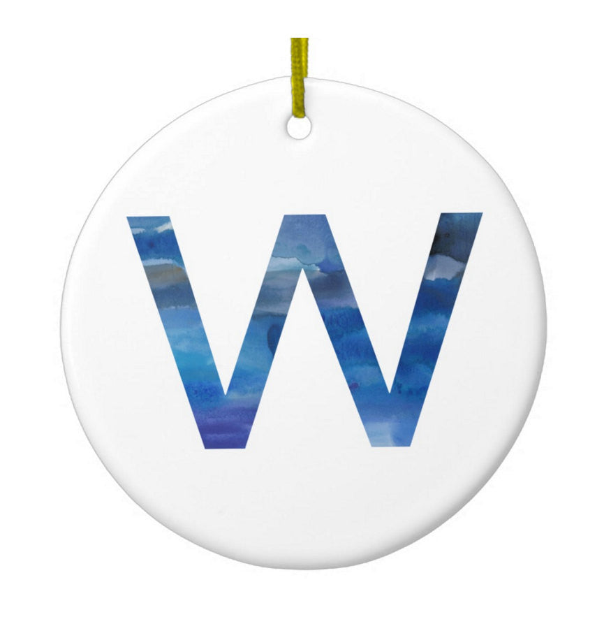 Fly the W Cubs Ornament - One Strange Bird