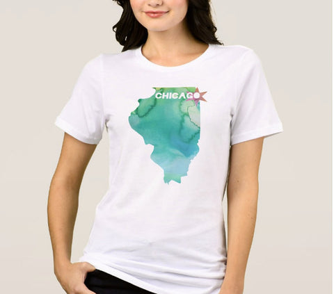 Chicago Illinois Shirt Unisex - One Strange Bird