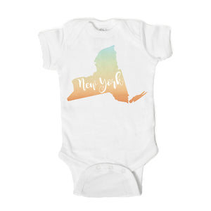New York  Baby Onesie