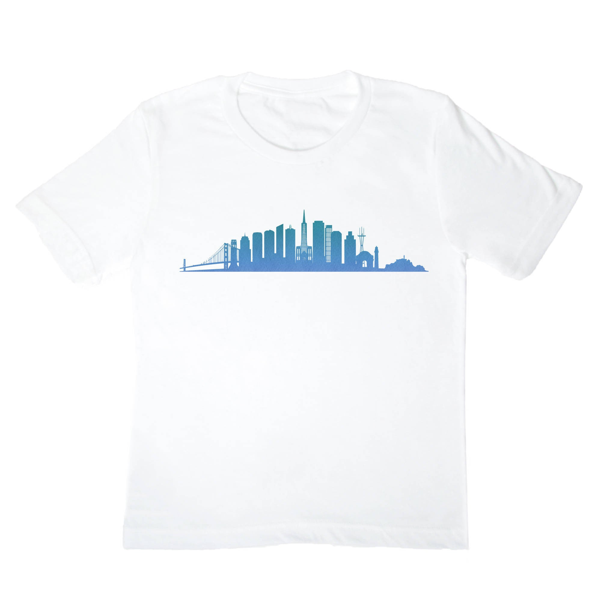 San Francisco Skyline Kids Shirt