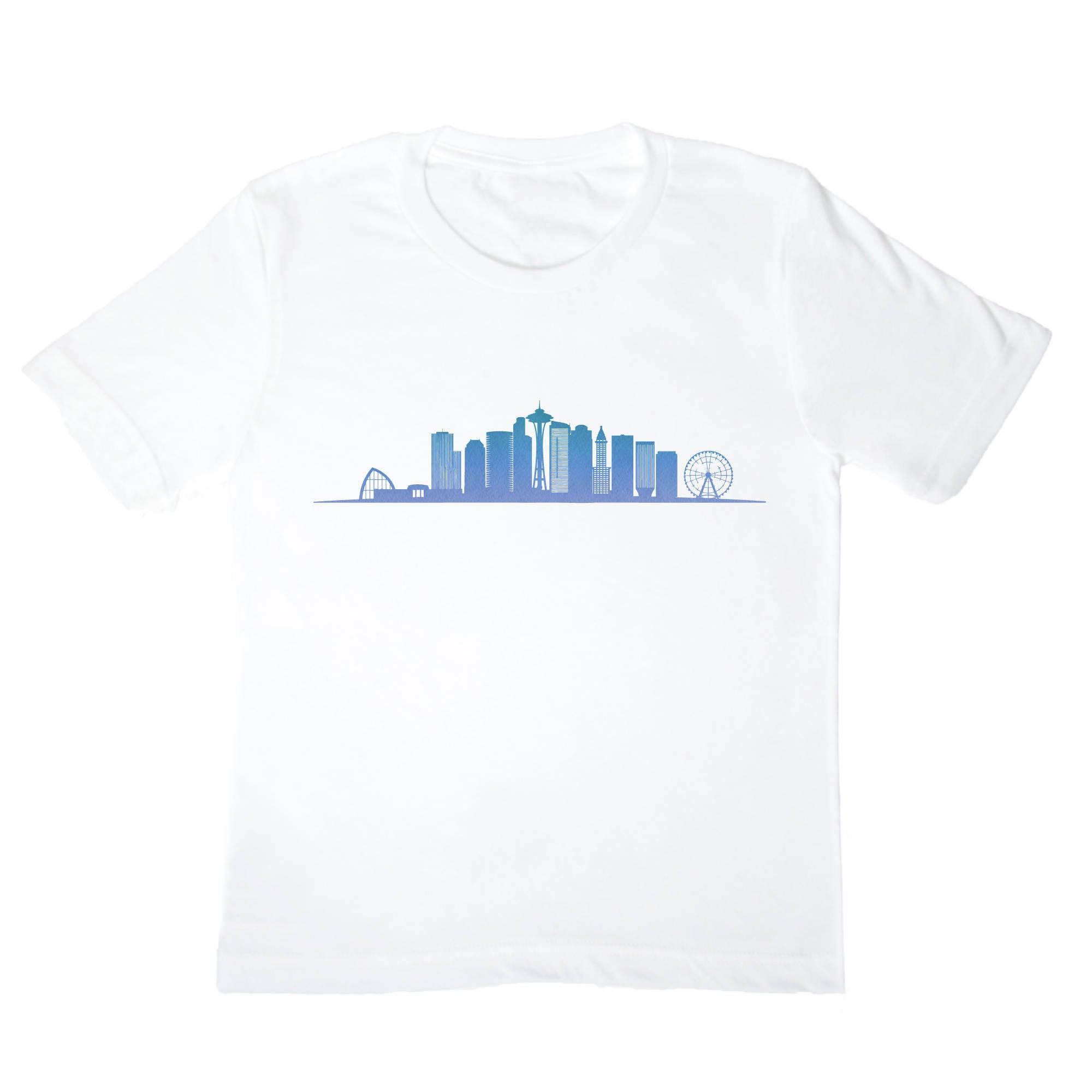 Seattle Skyline Kids Shirt