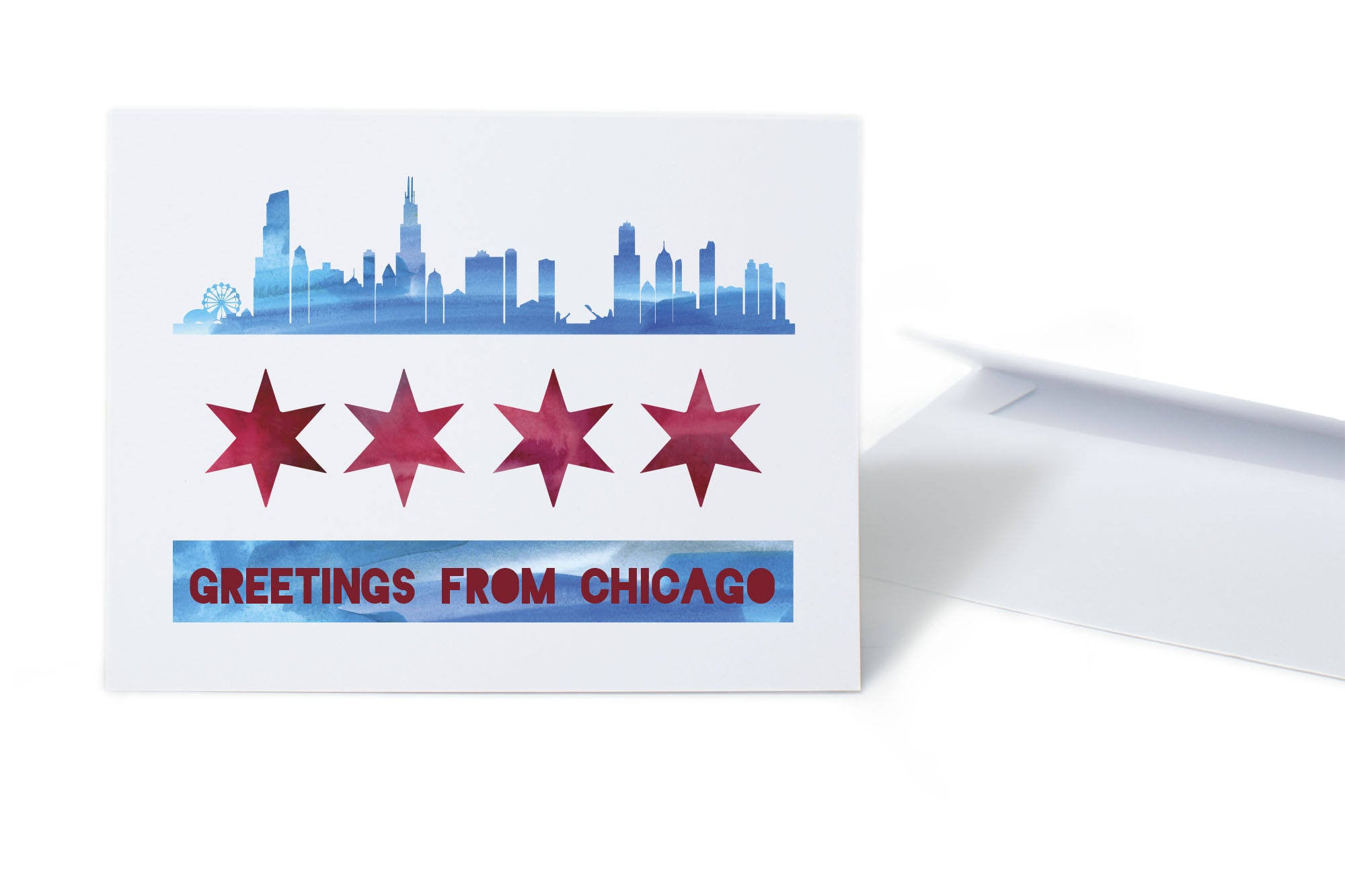 Greetings from Chicago Card