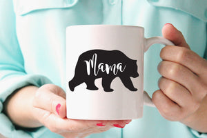 Mama Bear Coffee Mug - One Strange Bird
