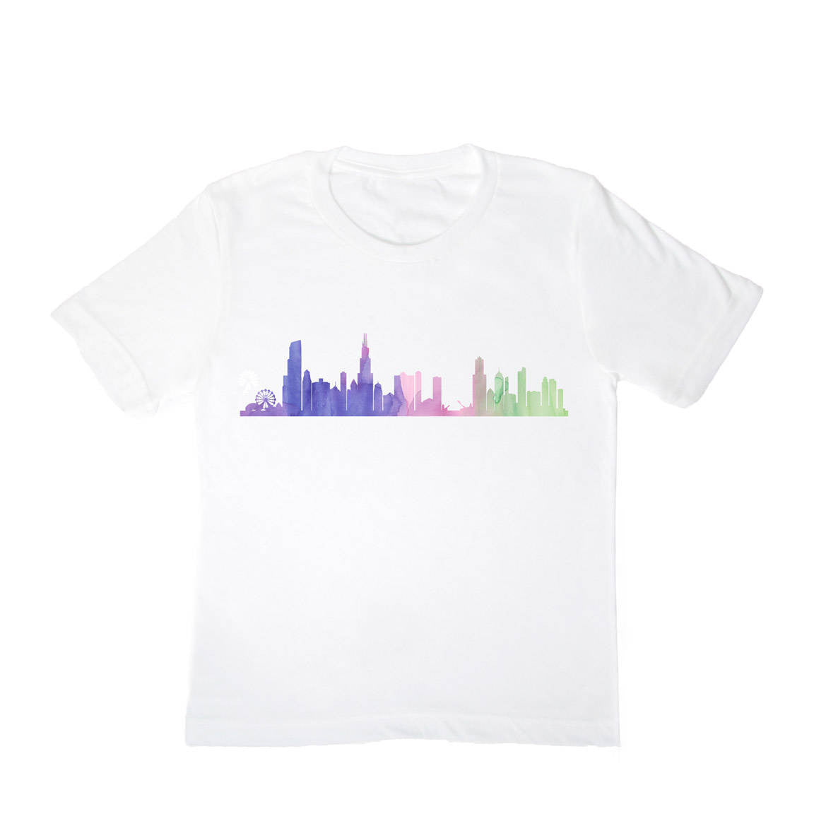 Chicago Skyline Toddler Shirt - One Strange Bird