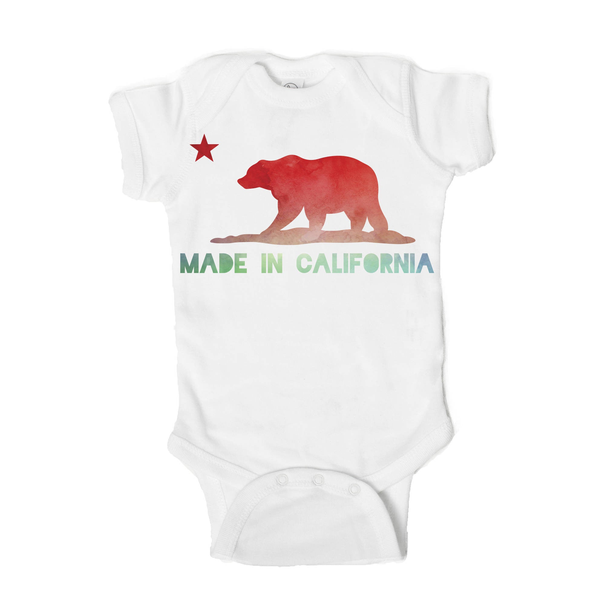 Made in California Baby Onesie - One Strange Bird