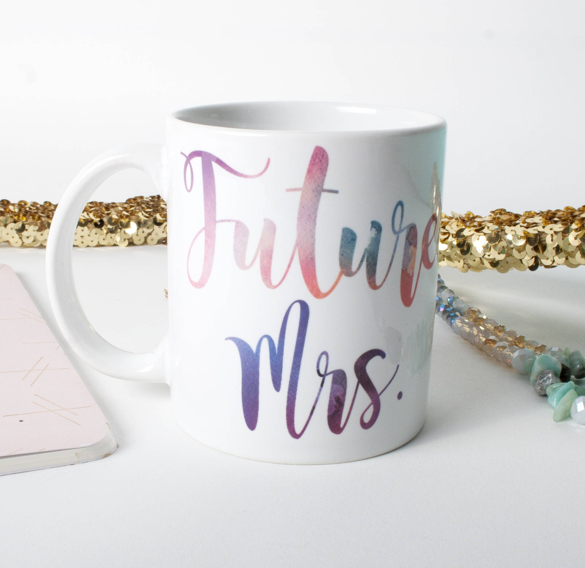 Future Mrs. Engagement Announcement Coffee Mug - One Strange Bird