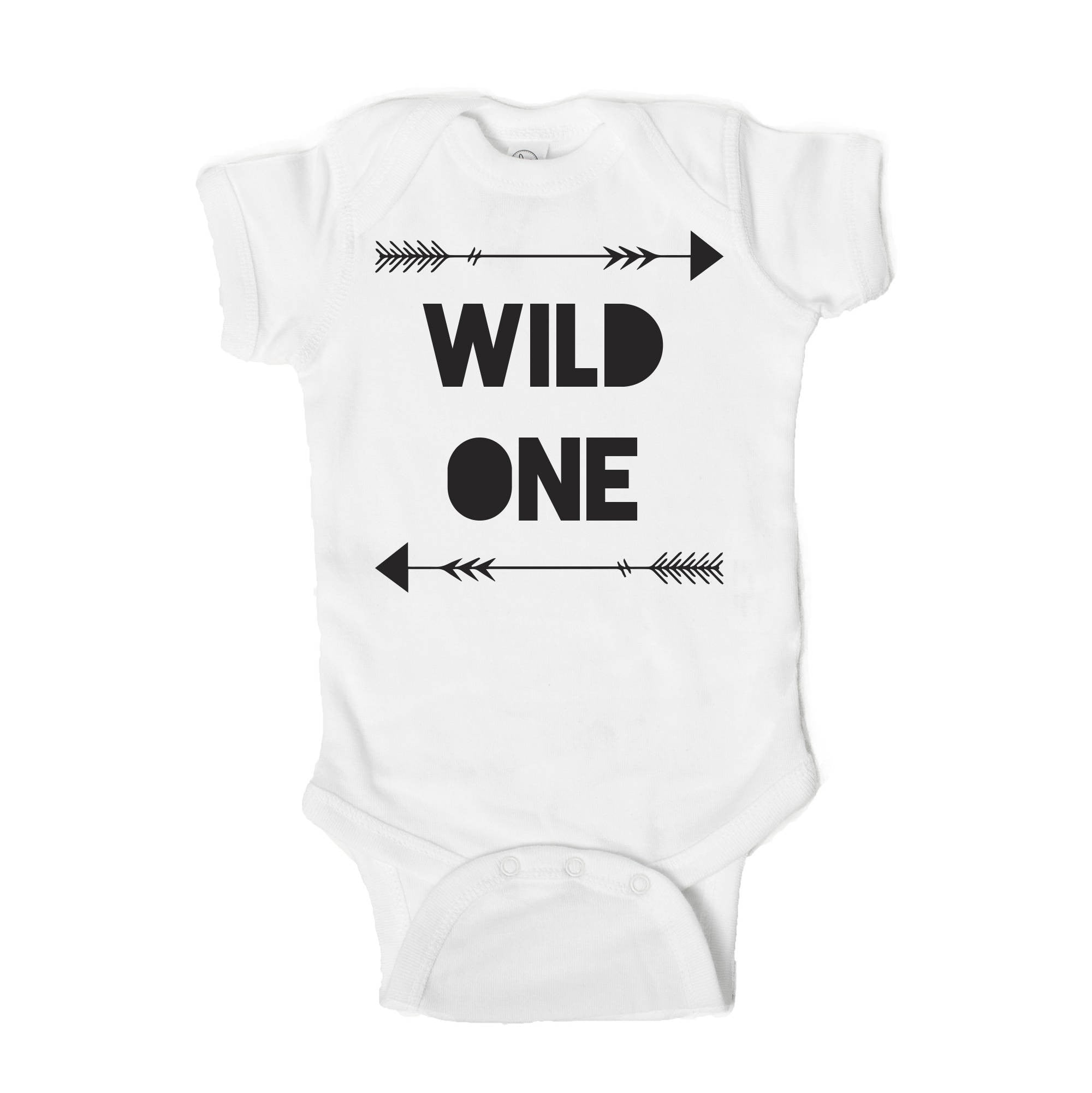 Wild One Baby First Birthday Onesie