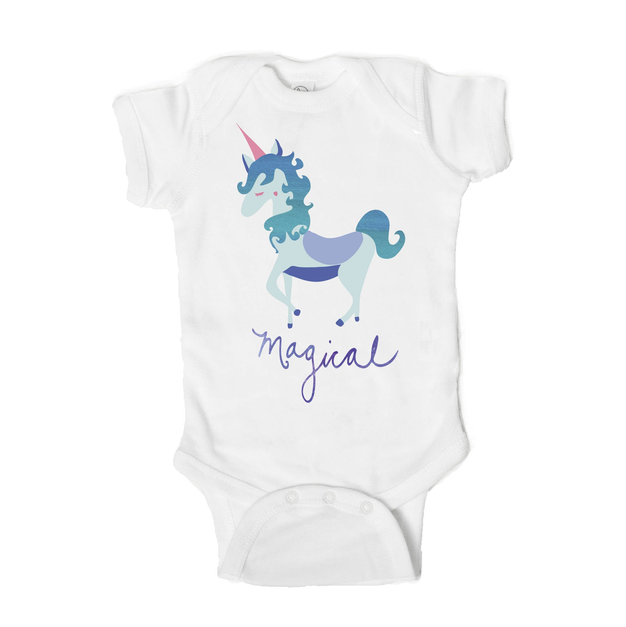 Magical Unicorn Baby Onesie