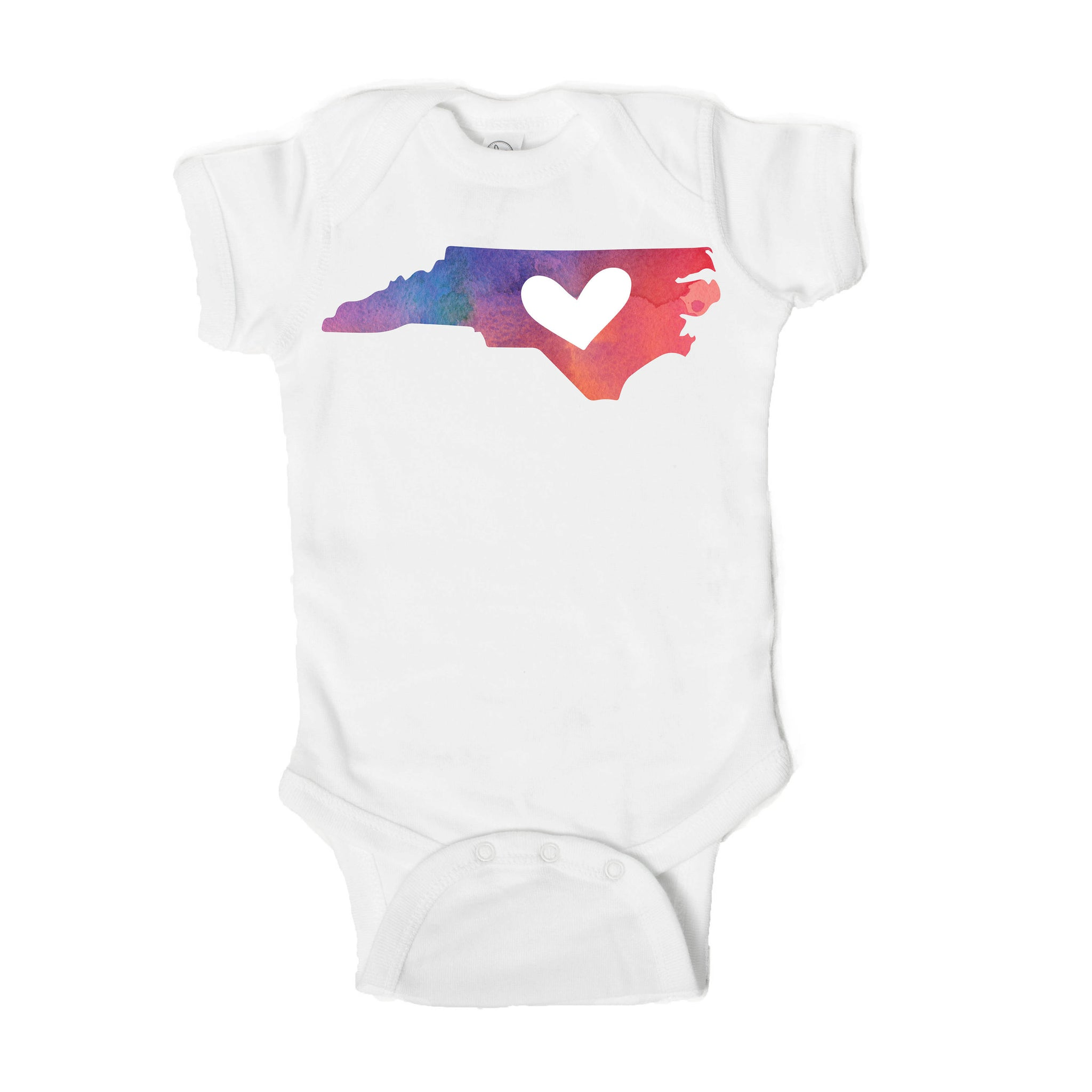 North Carolina Baby Onesie