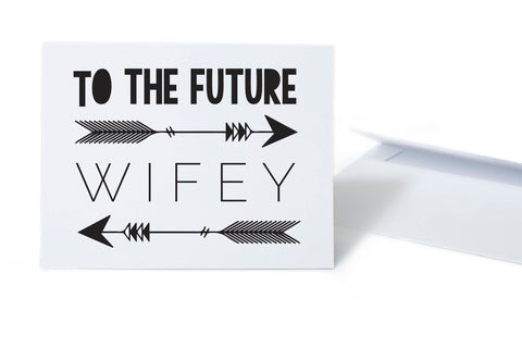 Future Wifey Engagement Wedding Card