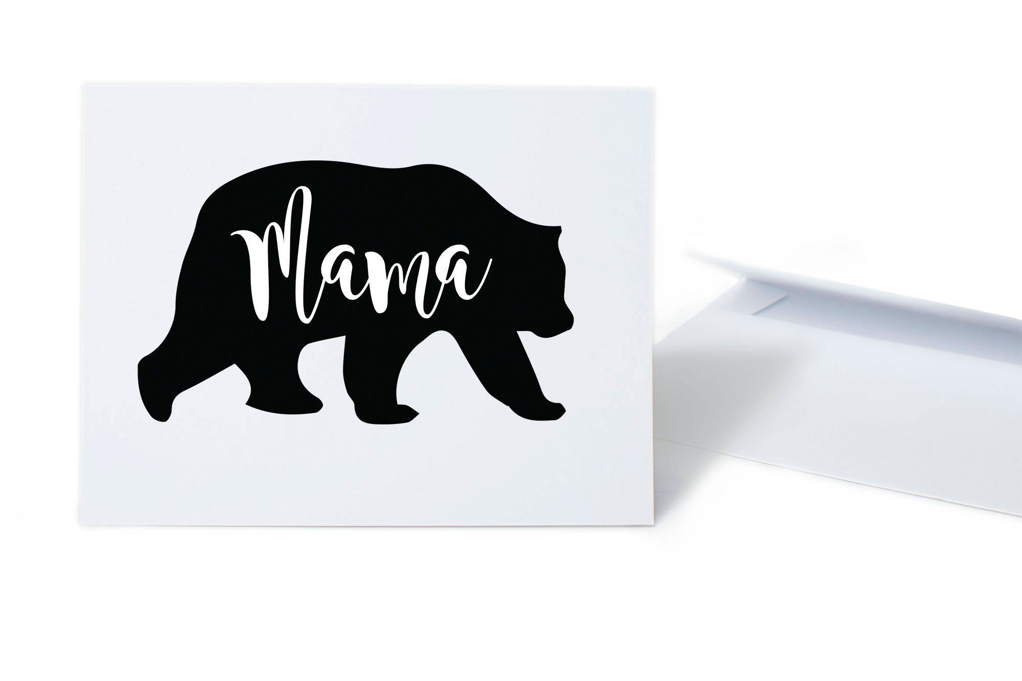 Mama Bear New Mom or Mother's Day Card
