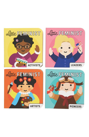 Little Feminist Board Book Set (4 books)