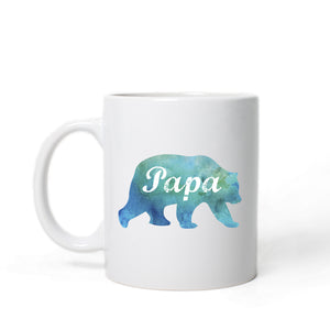 Papa Bear Coffee Mug - One Strange Bird