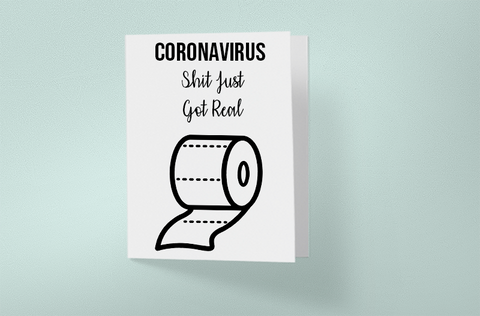 Coronavirus Shit Just Got Real