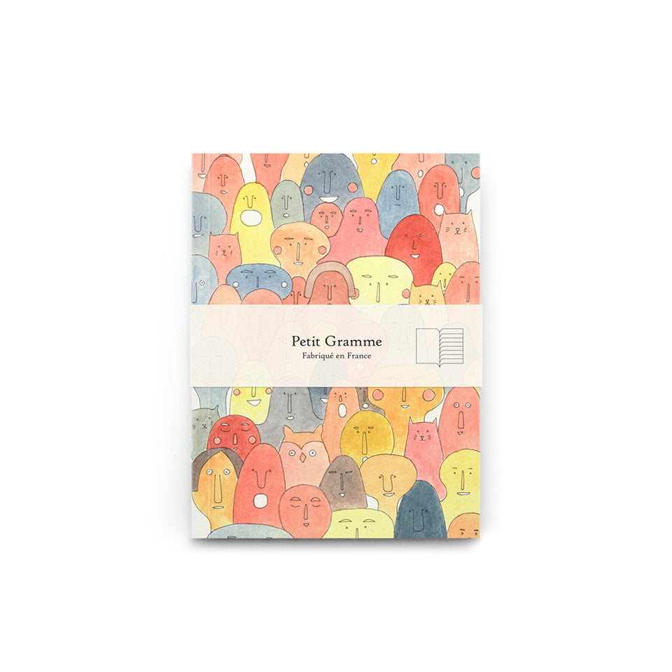 POCKET VISAGES NOTEBOOK