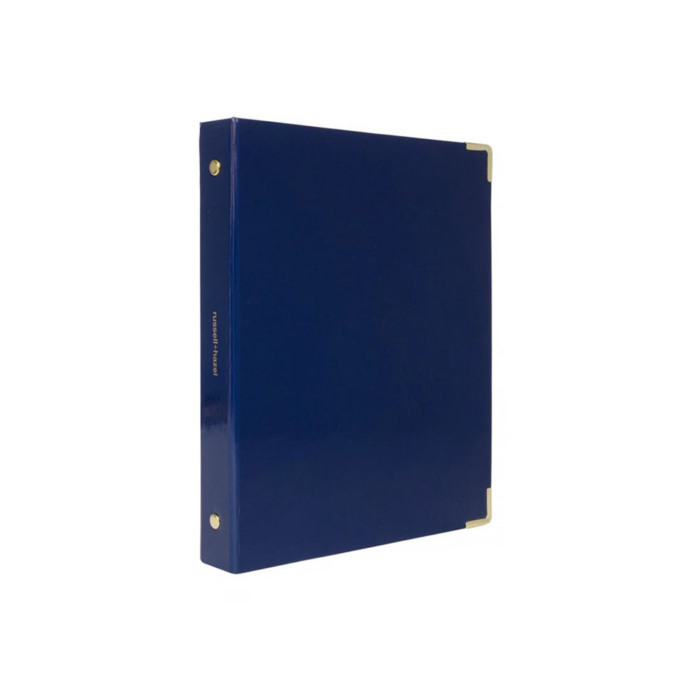 INDIGO PATENT MINI BINDER