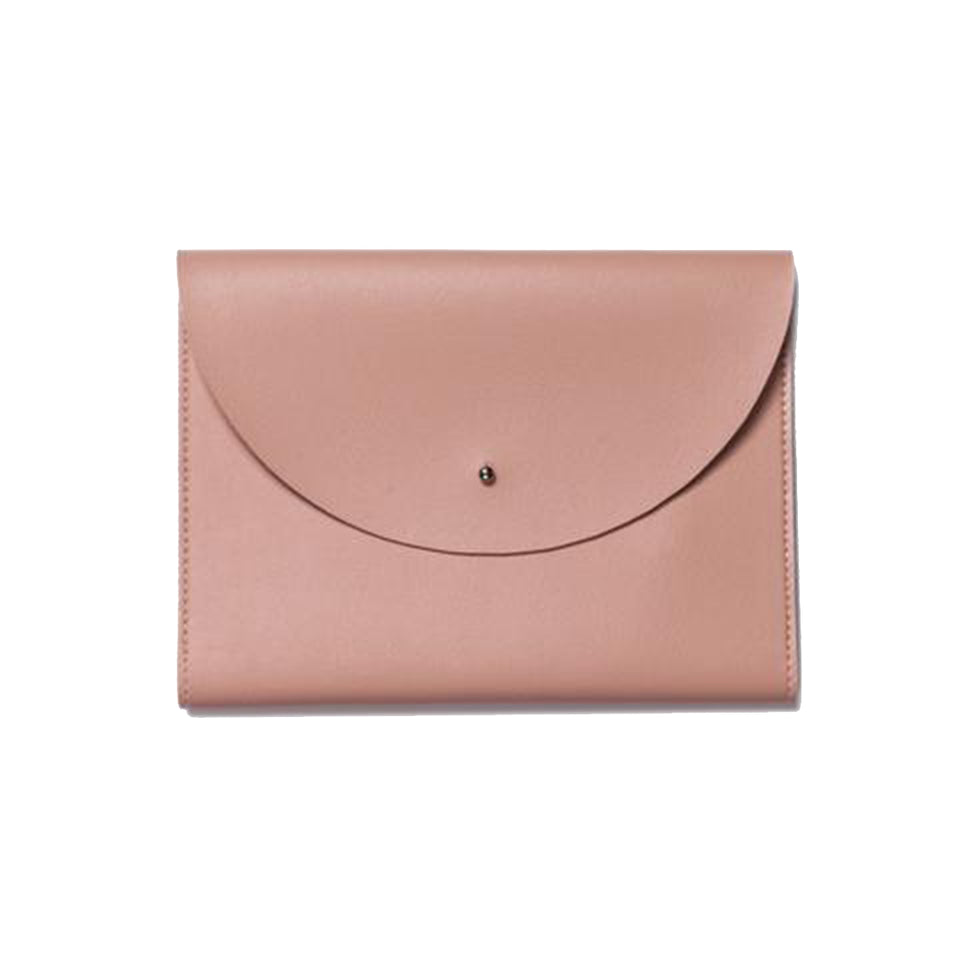 MINIMALIST FOLIO ORGANIZER IN BLUSH