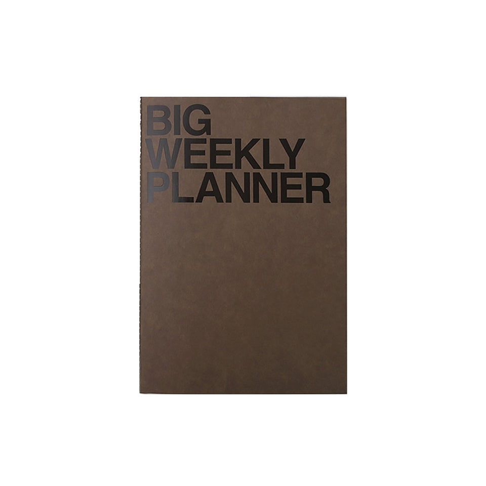 BIG WEEKLY PLANNER - KHAKI