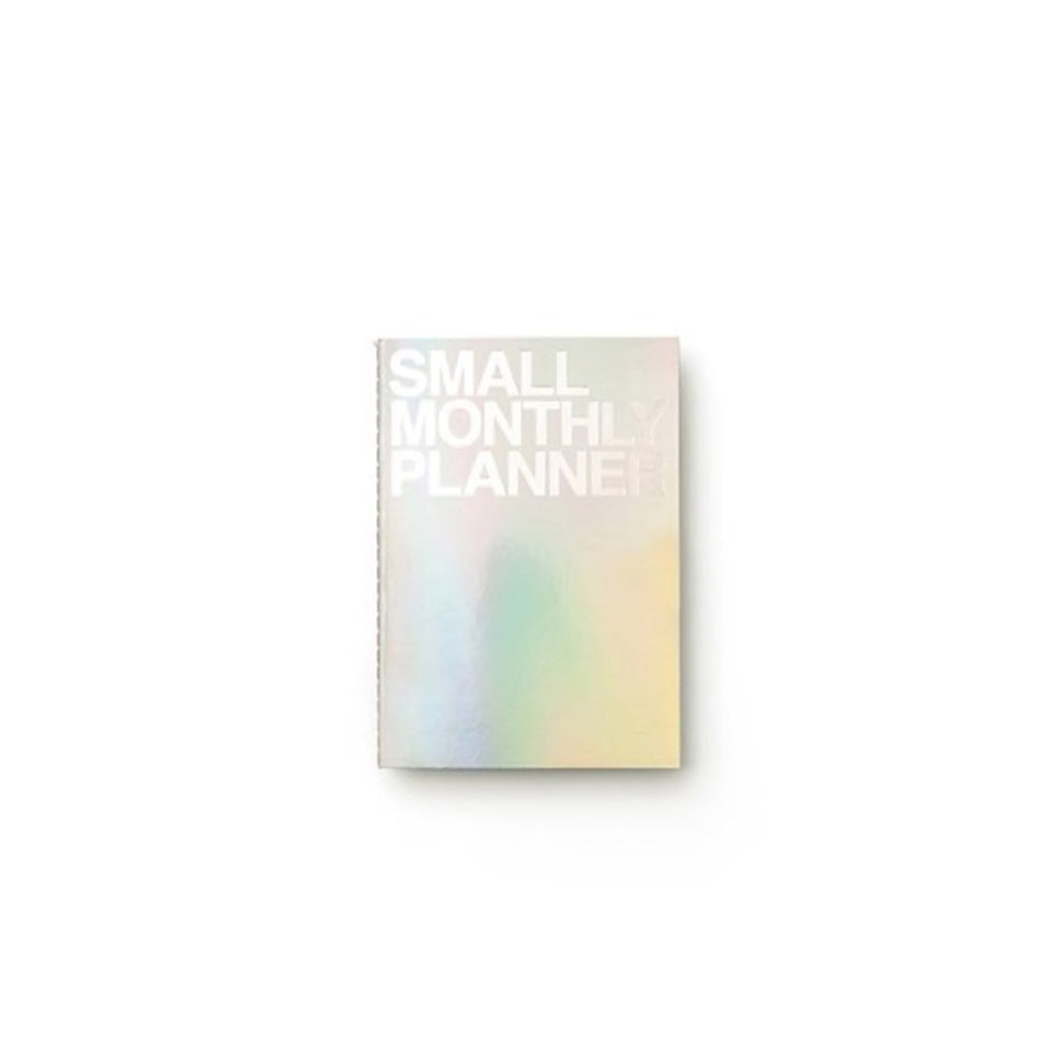 SMALL MONTHLY PLANNER - HOLOGRAM