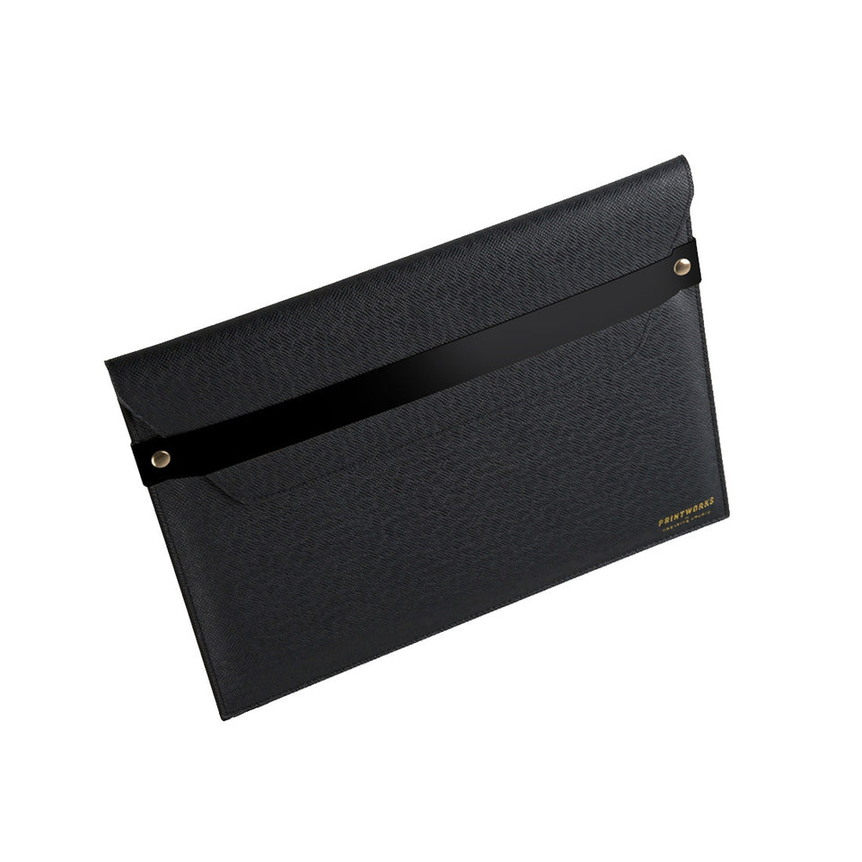 BLACK ENVELOPE CASE MACBOOK 13 INCH