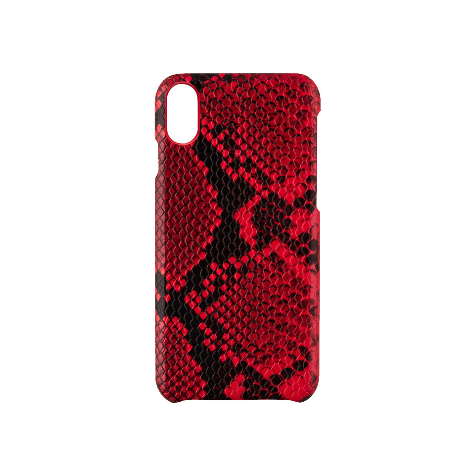 IPHONE X/XS CASE - RED SNAKE