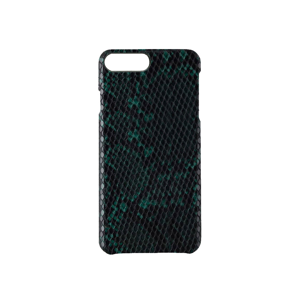 IPHONE PLUS CASE - GREEN SNAKE