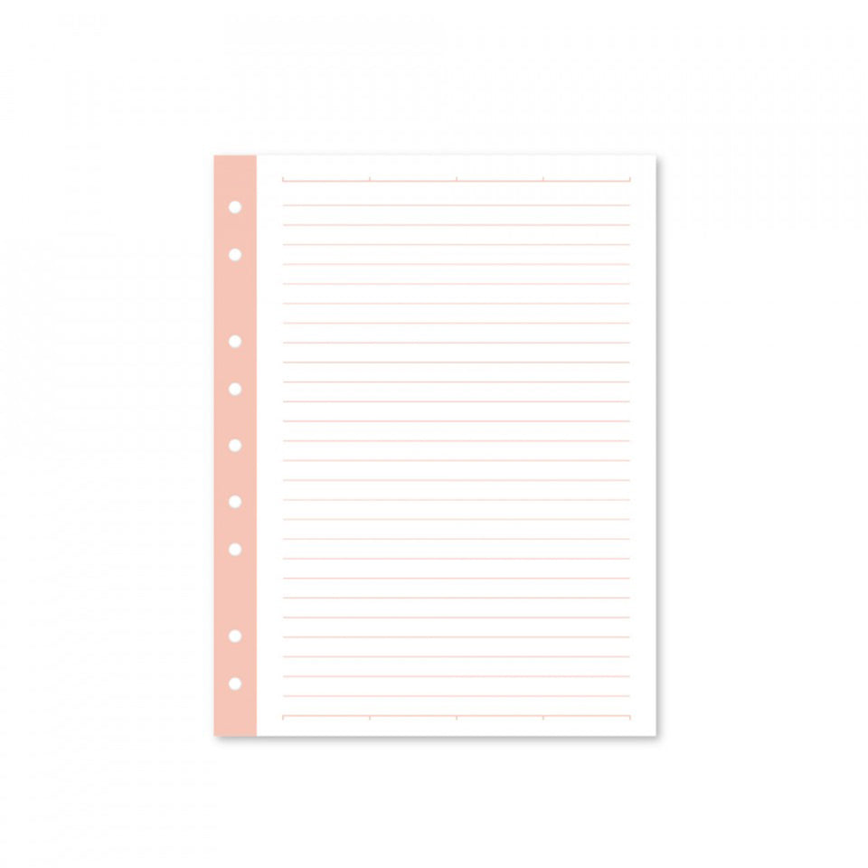 MINI FILLER PAPER - BLUSH