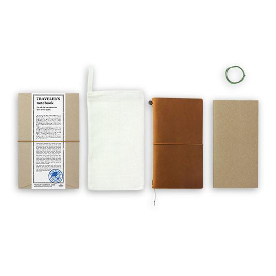 TRAVELER'S NOTEBOOK - STARTER KIT CAMEL
