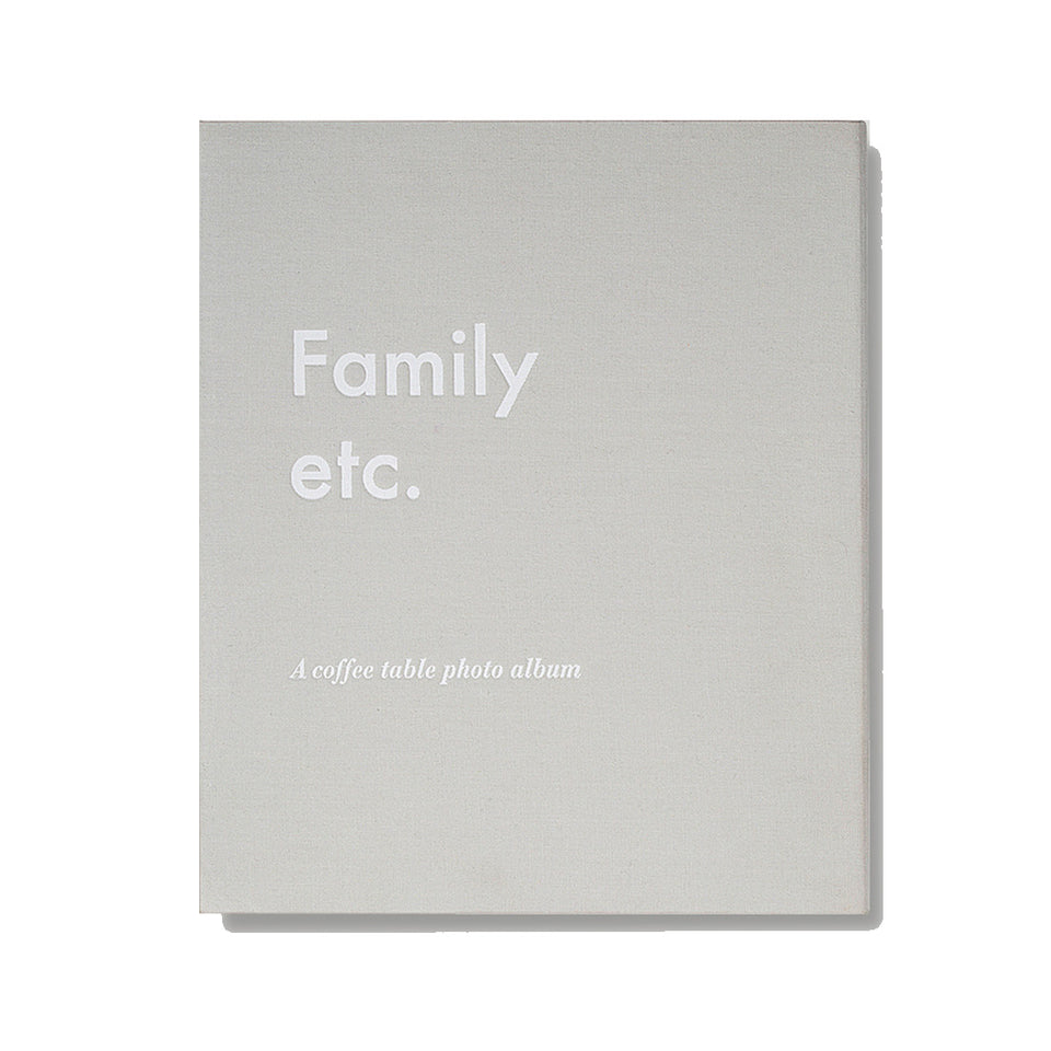 FAMILY ETC. - Coffee Table Photo Album