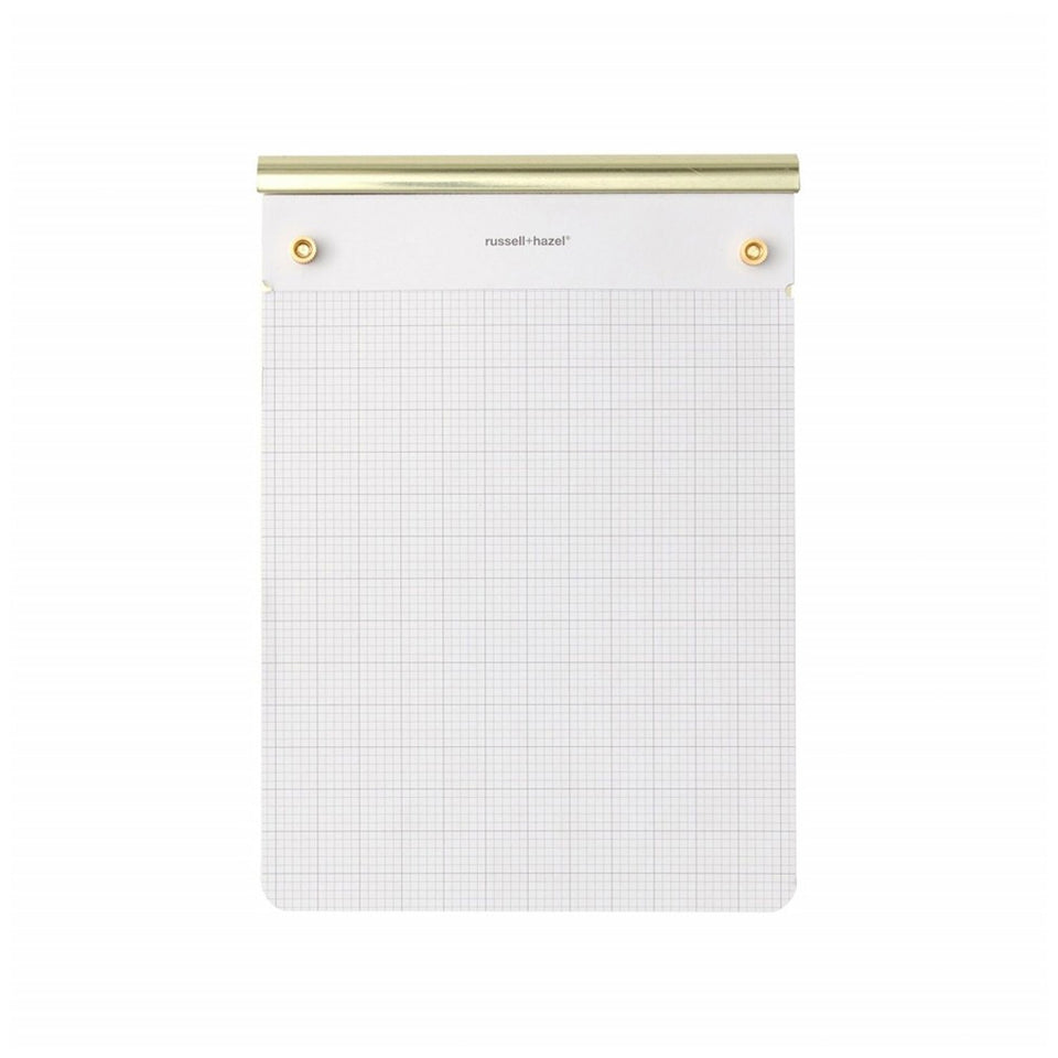 DRAFTERS TABLET NOTEPAD - GOLD