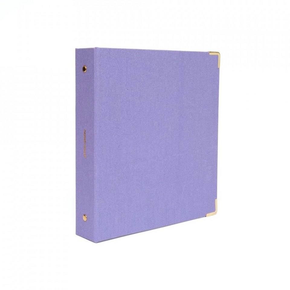 GRAYLAC BOOKCLOTH MINI BINDER