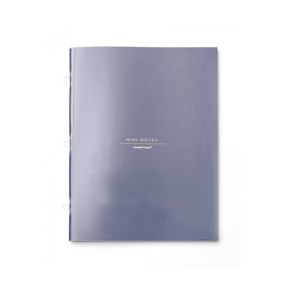 INDIGO MINI BINDER NOTEBOOK INSERT