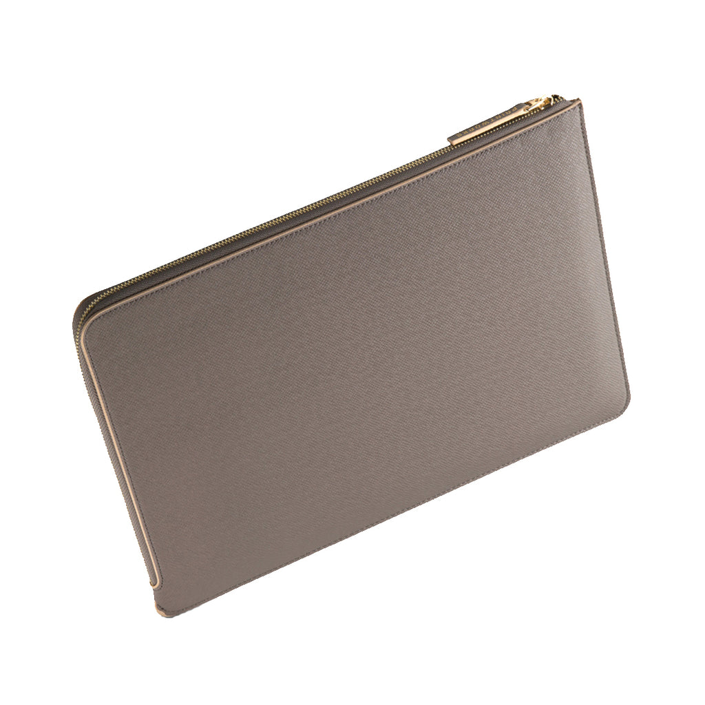 GREY/BEIGE LAPTOP CASE 10-12 INCH